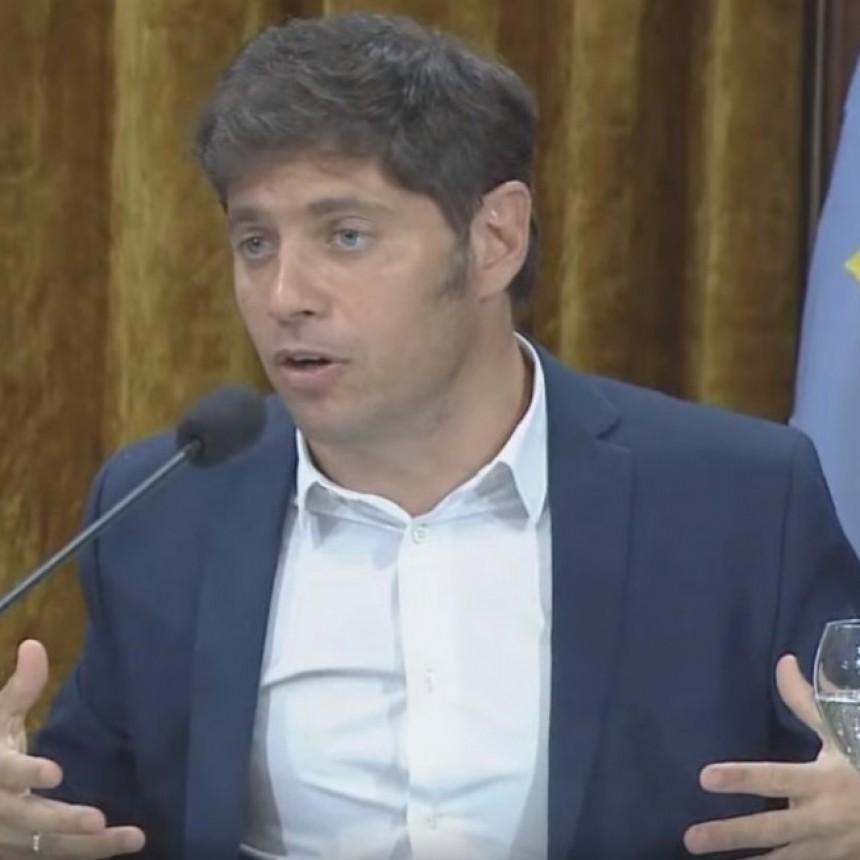 KICILLOF ANUNCIO QUE BUENOS AIRES PAGARÁ EL VENCIMIENTO DEL BONO BP21