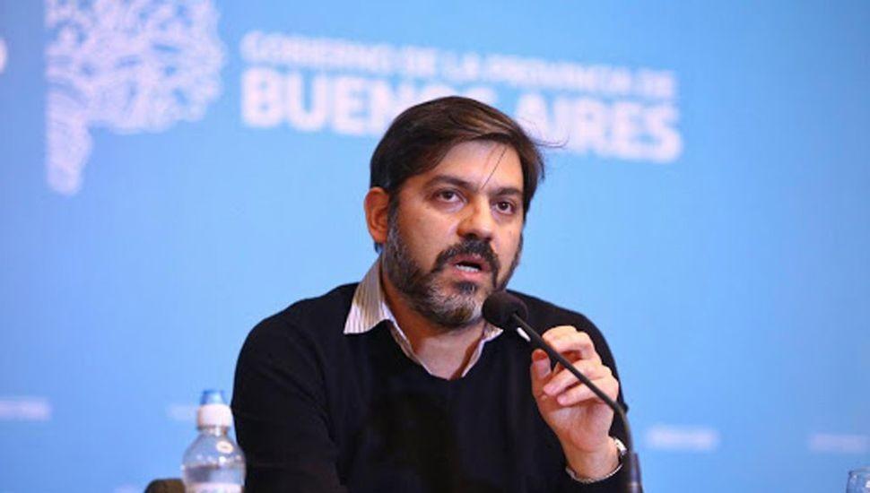 BIANCO ASEGURÓ QUE CONTINÚA LA BAJA DE CASOS DE CORONAVIRUS EN DISTRITOS BONAERENSES
