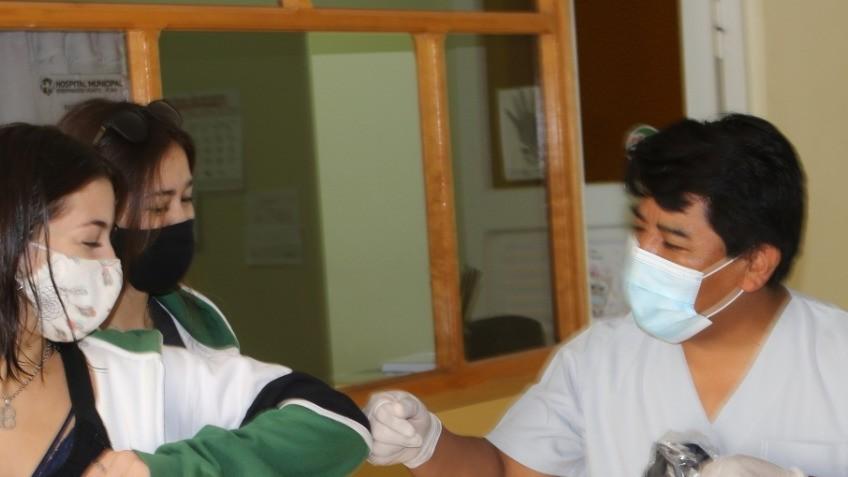 EL HOSPITAL MUNICIPAL DE PUAN RECIBIÓ UNA DONACIÓN POR PARTE DE ALUMNOS DELINSTITUTO ALMAFUERTE.