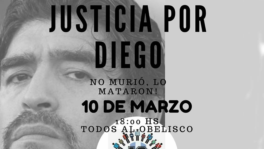 10-M: EL PUEBLO MARADONIANO SALE A LA CALLE A PEDIR JUSTICIA POR DIEGO
