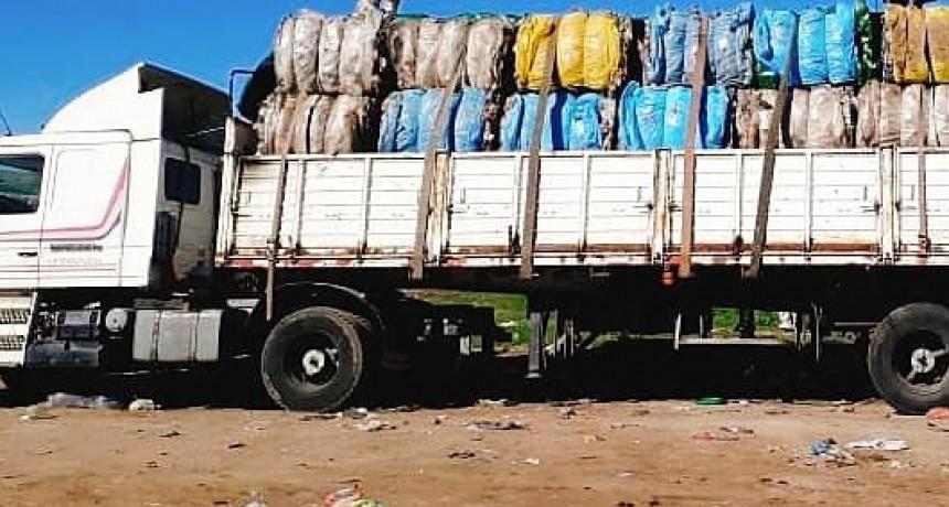 EN BALCARCE SE RETIRARON TONELADAS DE COMPONENTES RECICLABLES
