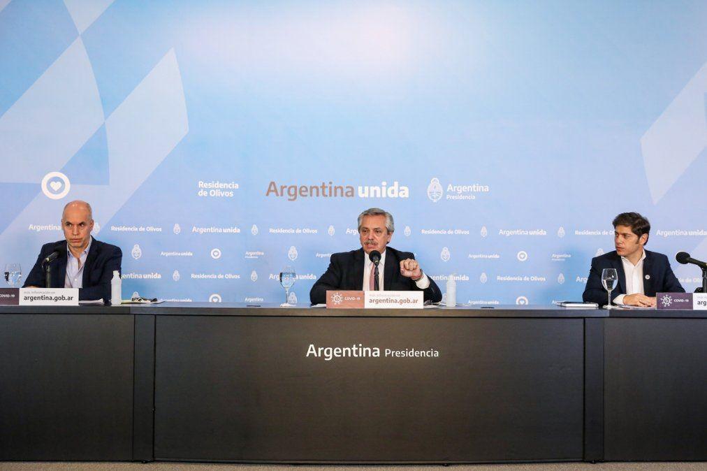 EL GOBIERNO ANUNCIARÁ UN ENDURECIMIENTO DE LAS MEDIDAS DE AISLAMIENTO EN EL AMBA