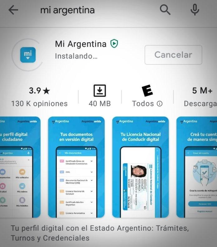 LAS PERSONAS VACUNADAS PUEDEN GENERAR SU CREDENCIAL DIGITAL EN LA APP MI ARGENTINA